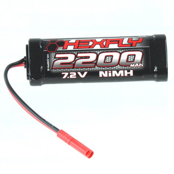 Red Cat Hexfly 7.2v 2200MAH BATTERY PACK w/ Banana 4.0 Clips