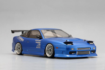 Yokomo 1/10 RC Car Body NISSAN 180SX Street Version