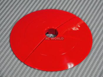 Rc Track Parts END CAP Red Tetsujin Kerbs