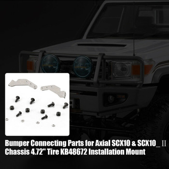 Axial SCX10 BUMPER CONNECT Killer Body Land Cruiser LC70 BODY BRACKET #48708