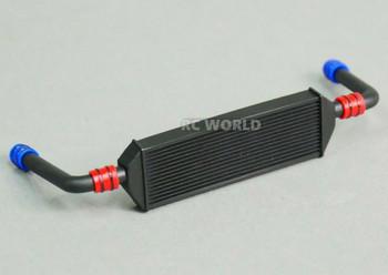 1/10 Black RADIATOR Inter Cooler w/ Pipes Low Profile