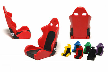 RC 1/10 Scale Accessories GREEN  RACING SEAT