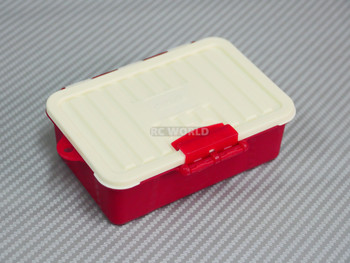 1/10 Storage Box Container Water Proof Low Profile RED