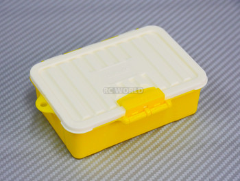 1/10 Storage Box Container Water Proof Low Profile YELLOW