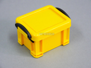 1/10 Storage Box Container Water Proof Tall Profile YELLOW