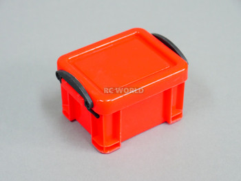 1/10 Storage Box Container Water Proof Tall Profile RED