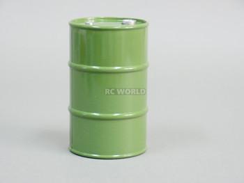1/10 Plastic Drum Container Drape Green