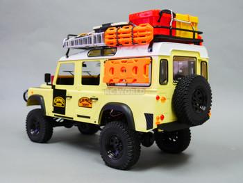 1/10 land rover defender 110  camel trophy