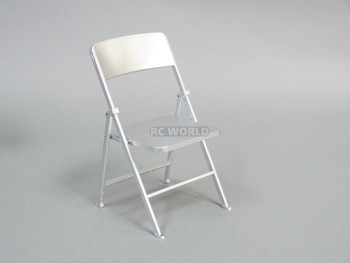 1/6 Scale FOLDING CHAIR SILVER