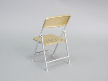 1/6 Scale FOLDING Chair Gold