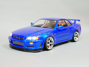 rc nissan skyline r34 drift