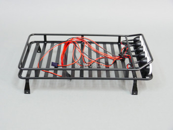 rc truck metal roof rack