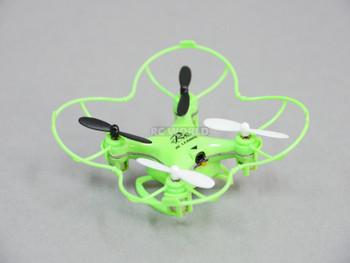 rc micro racing drone green