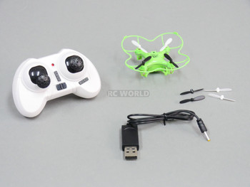 RC Micro RACING DRONE High Performance  20MPH W/ Flipping RTF Green