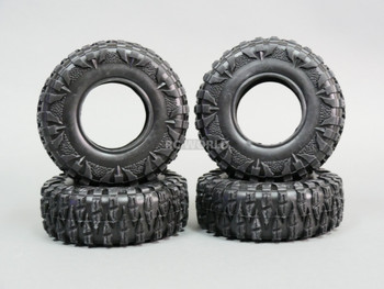 2.2 TIRES 120mm For RC Trucks Rock Crawler W/ Foam 120x43mm -4PCS