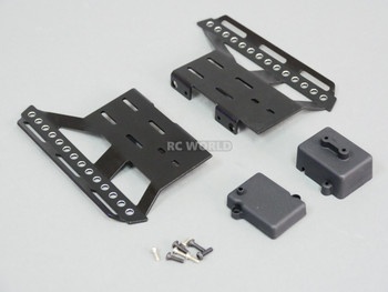 Axial SCX10 II Side Guard SKID PLATES Left + Right BLACK