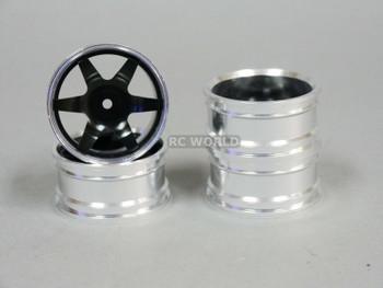 1/10 metal drift rims black
