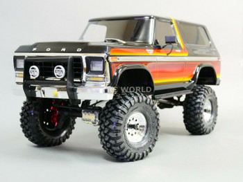 traxxas trx4 bronco upgrade metal bumper