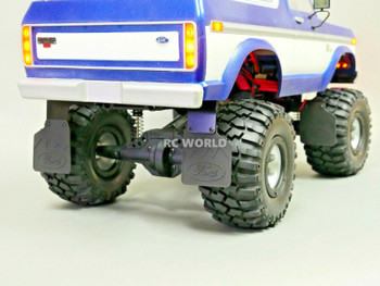 TRX-4 Bronco FORD Mud Flaps