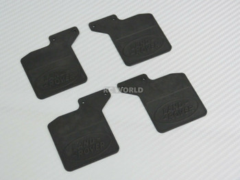 Traxxas TRX-4 Land Rover MUD FLAPS Front + Rear w/ Mounting Brackets (4)pcs