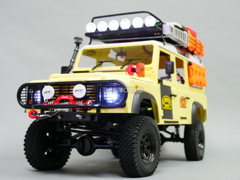 RC4WD 1/10 Land Rover Defender 110 Camel Trophy Truck w/ LED Lights + Sounds RTR