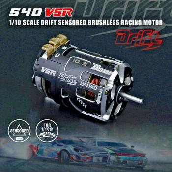 RC Brushless 540 DRIFT Motor SENSORED Racing Motor V5R 8.5T 4400 KV 1-3S Lipo