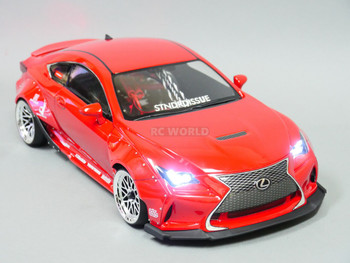 1/10 Rocket Bunny WIDE Kit LEXUS RCF Drift Wide Body Kit -CLEAR-