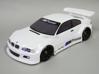 1/10 RC BMW E46 M3 RC Car BODY Shell  200 mm *Painted* White