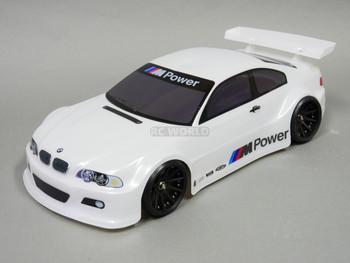 1/10 RC BMW E46 M3 RC Car BODY Shell  200 mm *Painted* White