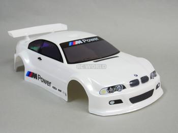 1/10 RC BMW  M3  BODY Shell  White