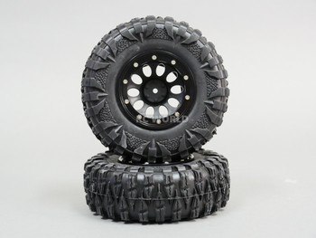 for Traxxas 2.2 RIMS + TIRES 120mm For RC Trucks W/ Foam 120x43mm -4PCS