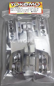 Yokomo 1/10 RC Car LIGHT BUCKETS For YUKE's Team Orange Beast Eye C33 Laurel