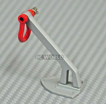 RC Scale LAND ANCHOR For RC Trucks Ground ANCHOR Metal - SILVER