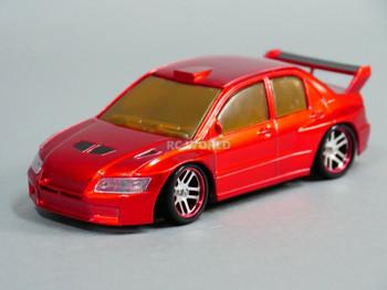 1/28 Mini Z MITSUBISHI EVO AWD Drift -RTR- RED