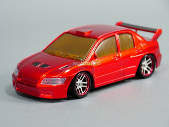 1/28 Mini Z MITSUBISHI EVO AWD Drift -RTR- RED