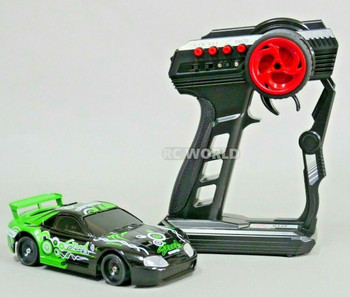 1/28 Mini Z TOYOTA SUPRA TURBO AWD Drift Pocket Rocket -RTR- GREEN