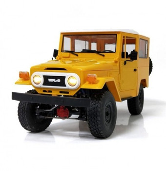 RC 1/16 Truck TOYOTA FJ Land Cruiser 4X4 RC Rock Crawler *RTR* Yellow