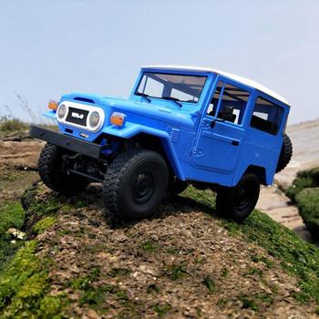 rc truck toyota fj40 blue