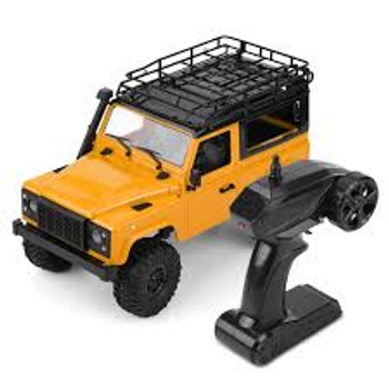 RC 1/16 Truck Land Rover D90 4X4 RC Rock Crawler *RTR* Orange