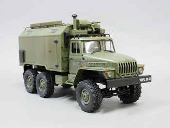 1/16 RC Military 6x6 Truck RUSSIAN MILITARY Truck LED + Suspension RTR