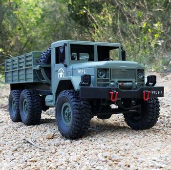 1/16 RC Military Truck 6x6  RTR Green