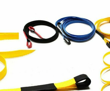 1/10 Scale Long TOW SLING Line 1 Meter Long BLACK