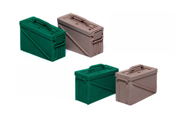 1/10 Scale AMMO BOX Green