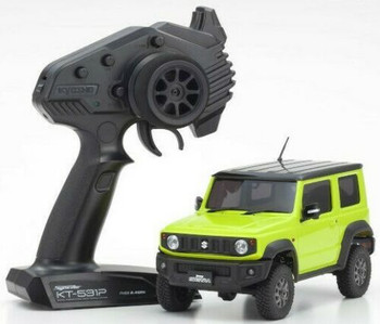 Kyosho RC 1/28 Mini Z JIMNY Sierra Ready Set YELLOW -RTR-