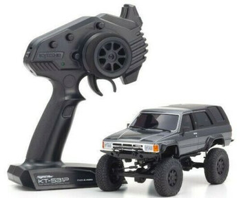 Kyosho RC 1/28 Mini Z TOYOTA 4 RUNNER Ready Set GREY -RTR-