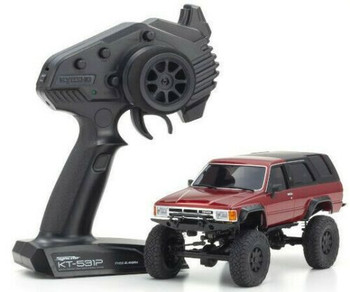 Kyosho RC 1/28 Mini Z TOYOTA 4 RUNNER Ready Set RED -RTR-