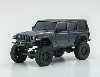 Kyosho RC 1/28 Mini Z JEEP WRANGLER Rubicon Ready Set GREY