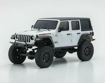 Kyosho RC 1/28 Mini Z JEEP WRANGLER Rubicon Ready Set WHITE