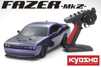Kyosho 1/10 RC DODGE HELLCAT Challenger SRT 2015 4WD -RTR- PURPLE