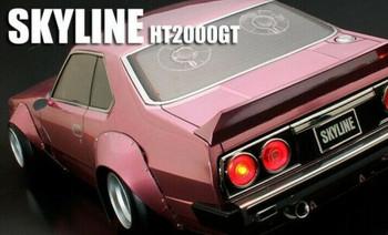 1/10 RC Car NISSAN SKYLINE HT2000GT Wide Body #66167-